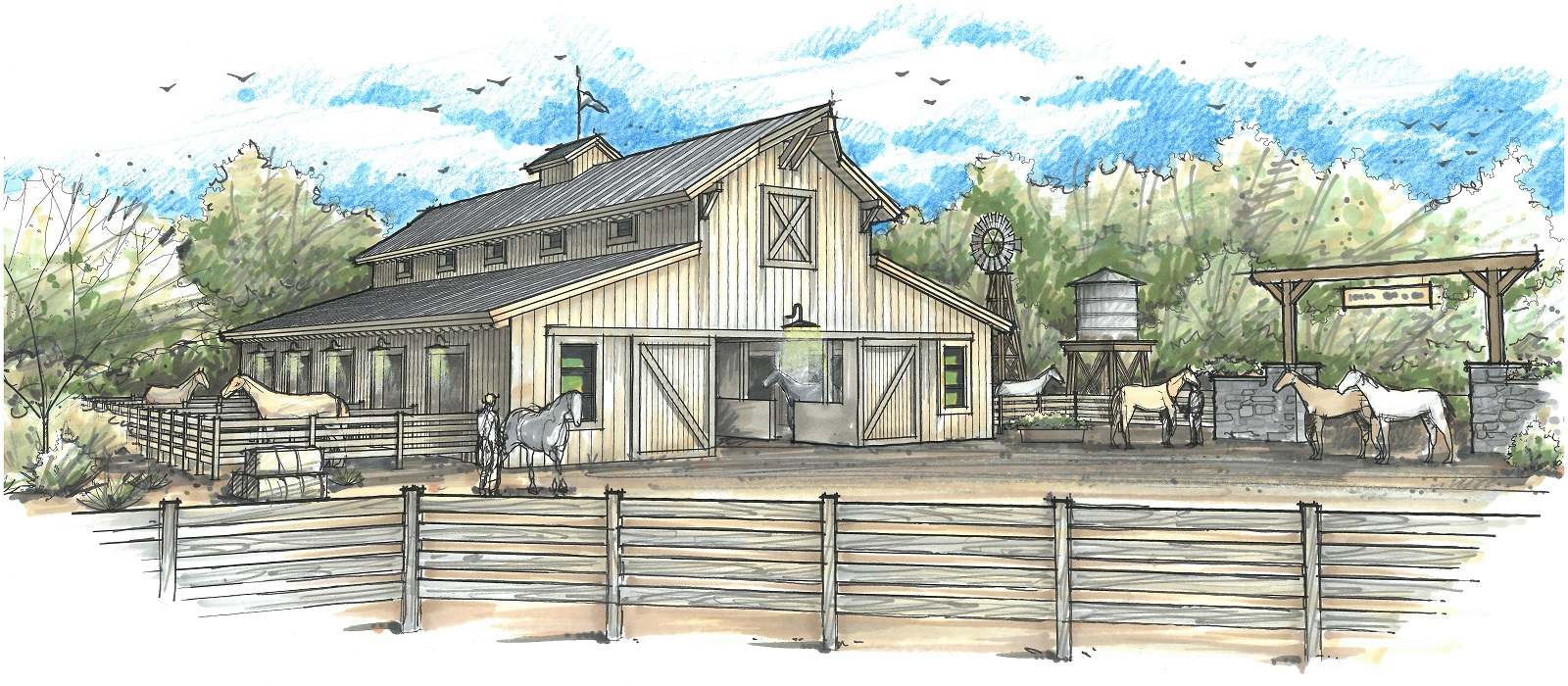 Horse Stables and Boarding - Silver Mountain Ranches Sustainable Living Community