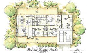 Model Home - Mayer, AZ - Main Level - Silver Mountain Ranches