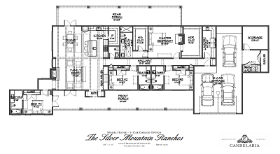3-Car Garage Option - Model Home Plans - Mayer AZ - Silver Mountain Ranches