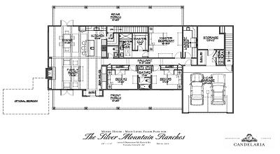 Main Floor Model Home Option - Mayer AZ - Bradshaw Mountains - Silver Mountain Ranches
