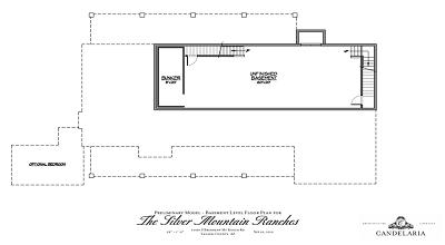 Optional Bedroom - Model Home Plans - Mayer AZ - Silver Mountain Ranches