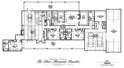 RV Garage Option - Model Home - Mayer AZ - Silver Mountain Ranches