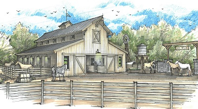 Horse Stables and Boarding - Silver Mountain Ranches Survivalist Community - Mayer, AZ